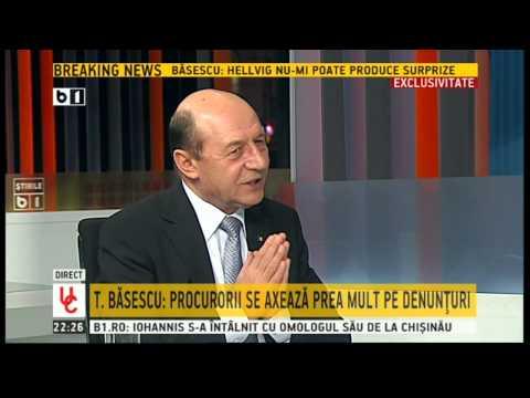 Traian Basescu, la Ultimul Cuvant (B1 TV) - Emisiune completa (24 februarie 2015)