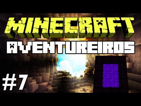 Minecraft: Feromonas e os Aventureiros Multiplayer #7 Recursos para o Nether