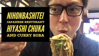 Nihonbashitei Japanese Resturant Hiyashi Chuka and Curry Soba