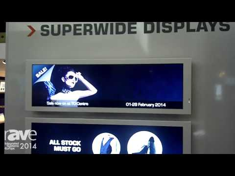 ISE 2014: Toshiba Exhibits 32-inch SuperWide, Half-Height Display with Fanless Design