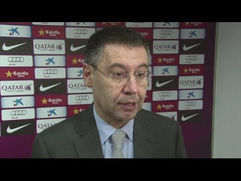 Bartomeu explains Barca transfer ban