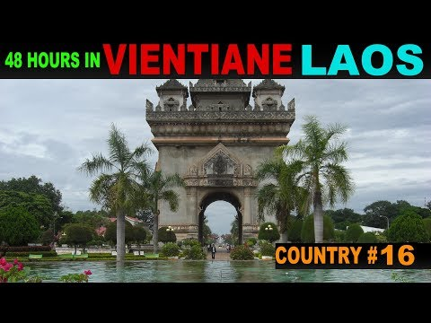 A Tourist's Guide to Vientiane, Laos
