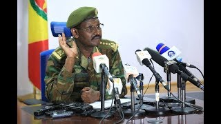 Ethiopia military on current issues