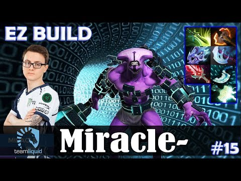 Miracle - Faceless Void Safelane | EZ BUILD | 7.07 Update Patch Dota 2 Pro MMR  Gameplay #15