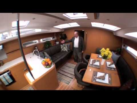 2012 Jeanneau 53 Sailboat: Walkthrough Tour