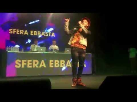 Sfera Ebbasta - Figli Di Papà Live #hhtfree Fabrique Milano 8/10/16