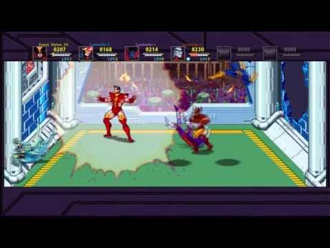 Event & Friends Play X-Men: The Arcade Game (Full Game)