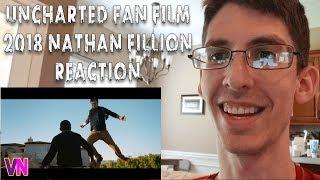 Uncharted Live Action Fan Film  (2018) Nathan Fillion (REACTION) (VOICE NERD)