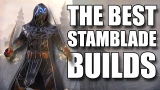 THE BEST Stamina Nightblade PVE Builds (ESO Summerset - Beginner's, Advanced, and vMA)