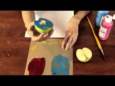 Apple Arts & Craft Ideas for Preschool Children : Preschool & Kindergarten Crafts