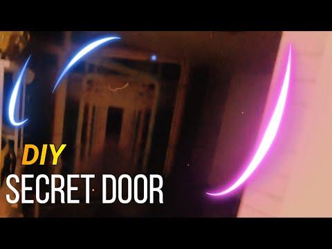 DIY - Geheimtür selber bauen   Secret Door   Geheim Raum   Geheime Tür