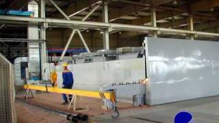 Composite filament winding Machine - Russia, GRP, GRE, fiberglass pipes