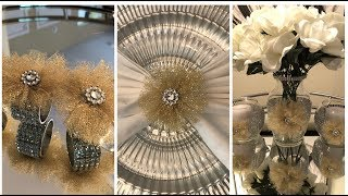 Dollar Tree DIY - 💕 Getting Ready for Fall || Place Setting Ideas - Part 2 💕