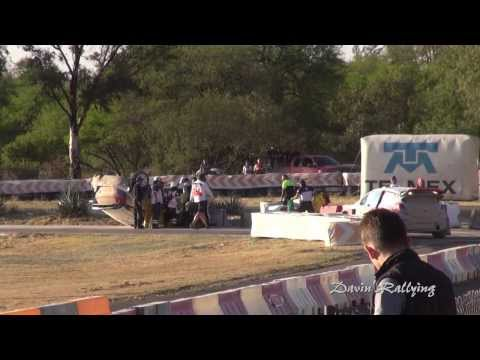 WRC Rally Guanajuato Mexico 2014 - Robert Kubica Crash SSS10