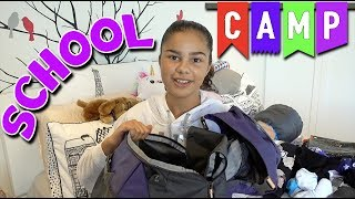 Packing for School Camp Routine 2018 | Grace's Room