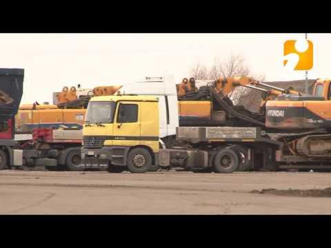 Тягачи из Нижневартовска вырвались из тверского плена. 2017-03-30