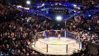 Khabib Nurmagomedov entrance in Ufc 223 from the top of Barclays center