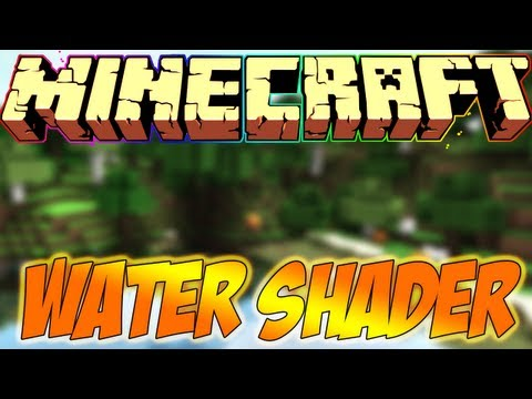 Minecraft Mods Showcase - WATER SHADER MOD