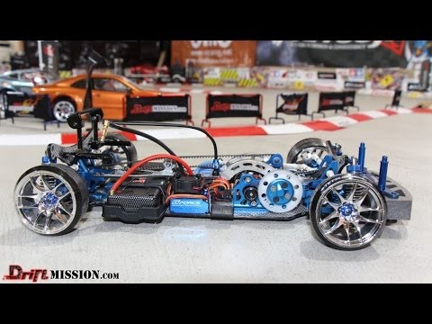 G-Force Super Sonic Motor and TS-120A ESC Combo RC Drifting