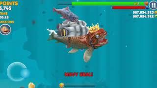 Cực vui , Cùng chơi Hungry Shark hack ( full vàng và kim cương)