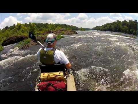 Coosa River - Kayak Bass Fishing