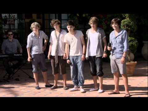 One Direction - The X Factor Judges' Houses - Torn (full) Hd video