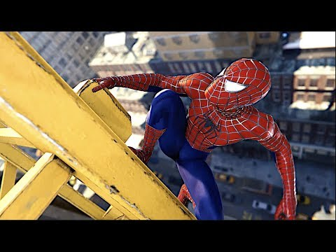 Recreating The Helicopter Chase In Sam Raimi Suit Spider Man Ps4