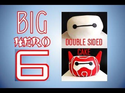Big Hero 6 Baymax / Armor-Up Baymax Marvel Superhero Cake (How to make)