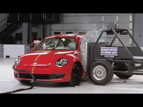 Volkswagen Beetle 2013, краш-тесты