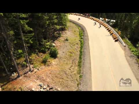 Whistler Longboard Festival 2012 - Cable Cam - Part 1
