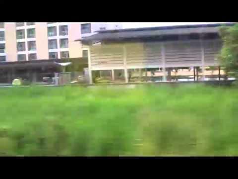 Train ride into flooded Bangkok part 3