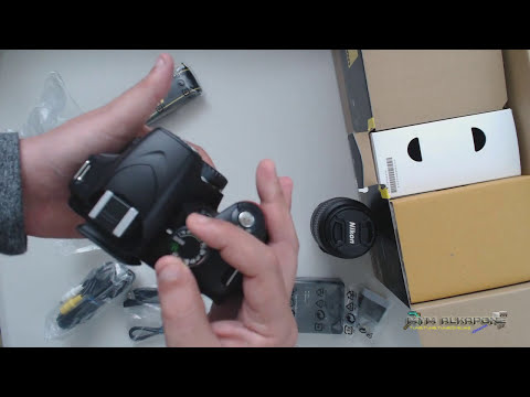 Unboxing Camara Profesional Nikkon D3200 24 mpx, Video Full HD
