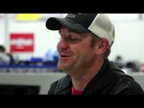 Clint Bowyer and his Dirt Latemodel Team