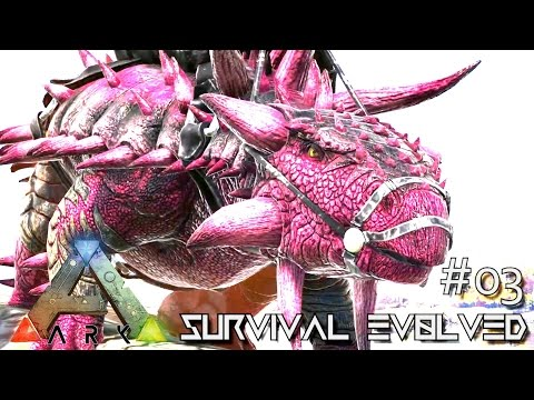 ARK: SURVIVAL EVOLVED - NEW ALPHA TERROR BIRD & ALPHA ANKYLO TAMED !!! E03 (ARK ANNUNAKI EXTINCTION)