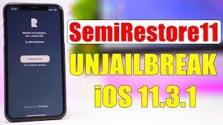 SemiRestore11 - Unjailbreak / Restore Your iOS 11.3.1 Jailbroken Device