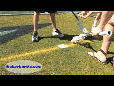 How to Face Off A BayHawk Lacrosse Training Clinic on iLacrosse Television