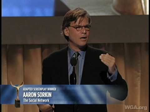 2011 WGA Awards: The Social Network's Aaron Sorkin wins Adapted Screenplay