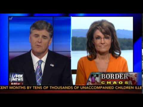 Sarah Palin talks to Sean Hannity July 21, 2014