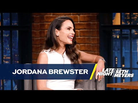 Jordana Brewster's Son Drops the F-Bomb