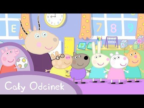 Peppa Pig (Świnka Peppa) - Przedszkole (Cały odcinek po polsku)