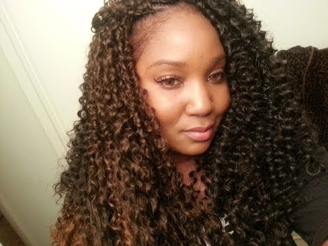 Crochet Hair In Bulk : SNAP Bohemian Curl Crochet Braids - YouTube