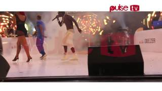 Watch Shatta Wale's  performance with his wife at 2016 Ghana Meets Naija # pulsetv