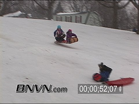 1/8/2006 General snow video of people playing and enjoying the weather.