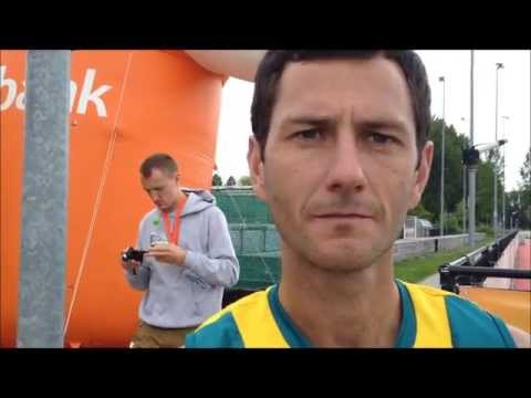 Jamie Dwyer interview after scoring five goals against France