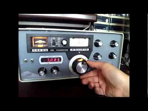 Fake YAESU FT-101B 5Band receiver