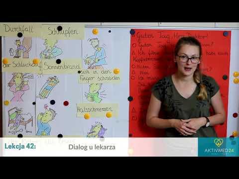 Niemiecki Dla Opiekunek Seniorów: Lekcja 42 - Dialog U Lekarza