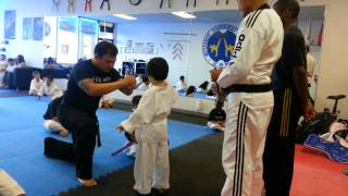 Alexander getting new belt