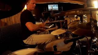 Jan Urbanc plays drums to a drumless Gospel Song in October 2016. Behringer XR18; DAW: Reaper