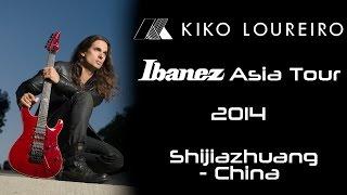 Kiko Loureiro - Ibanez Asian Tourから中国・石家荘市(Shijiazhuang)滞在時の映像15分を公開 thm Music info Clip