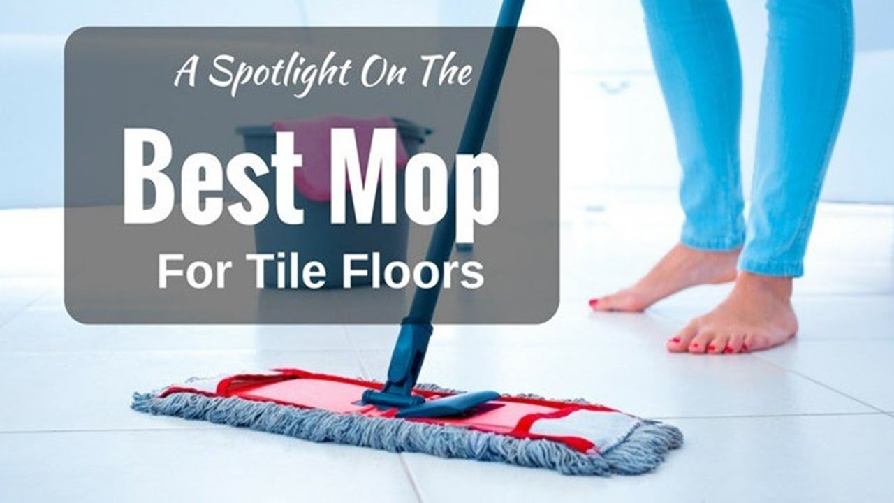 How to mop tile floor